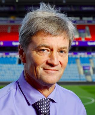 E-POST-AVSENDER: Ronny Aasland er direktør strategi og forretningsutvikling i Norges Fotballforbund.