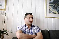 Syriske Hani hevder politiet tilbød å slette fingeravtrykket hans på grensen
