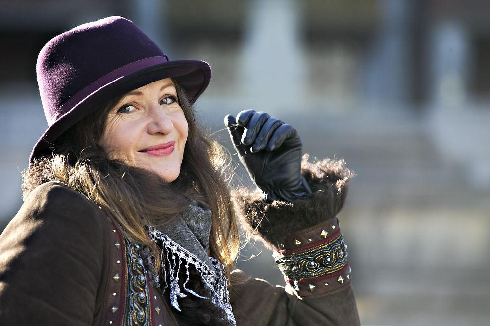 <p>MODEN: Rita Eriksen gleder seg til å formidle Eva Cassidys sangskatt. Foto: JAN PETTER LYNAU, VG</p>