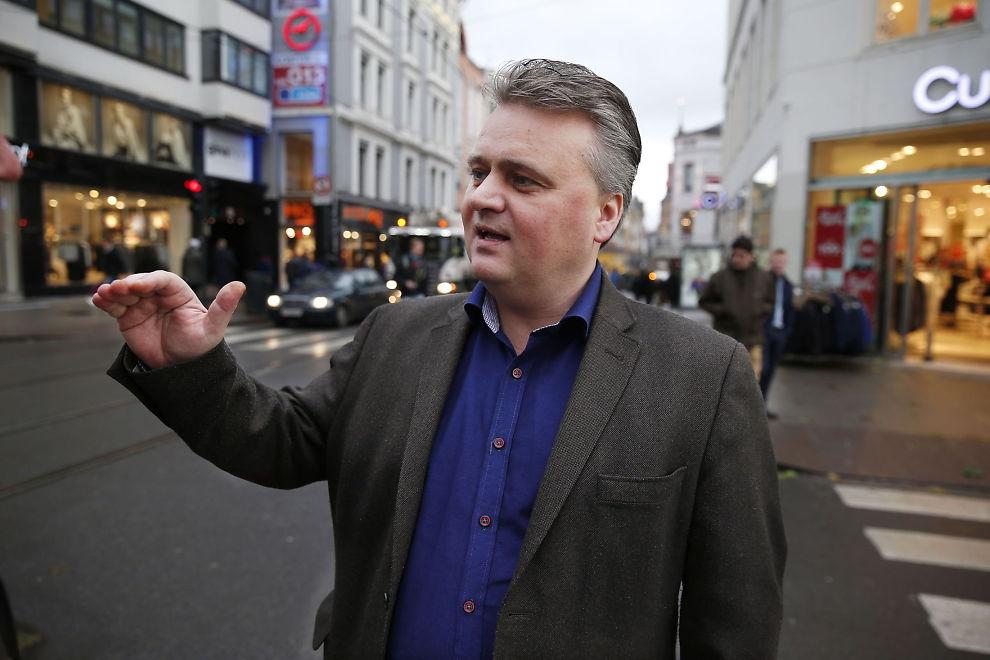 <p>FØRSTEREIS: Fellesforbundsleder Jørn Eggum er førstereisgutt som LOs lønnsgeneral. Han slår kraftig tilbake mot NHO. Tirsdag begynner forhandlingene.</p>