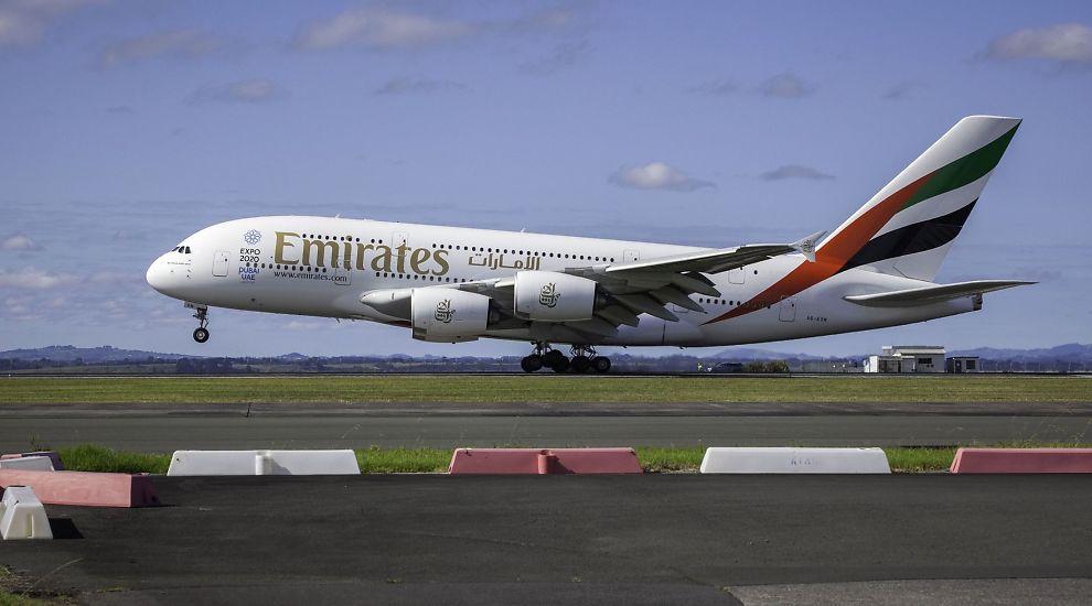 TOUCH DOWN: Flyet landet i Auckland onsdag etter å ha gjennomført reisen fra Dubai.