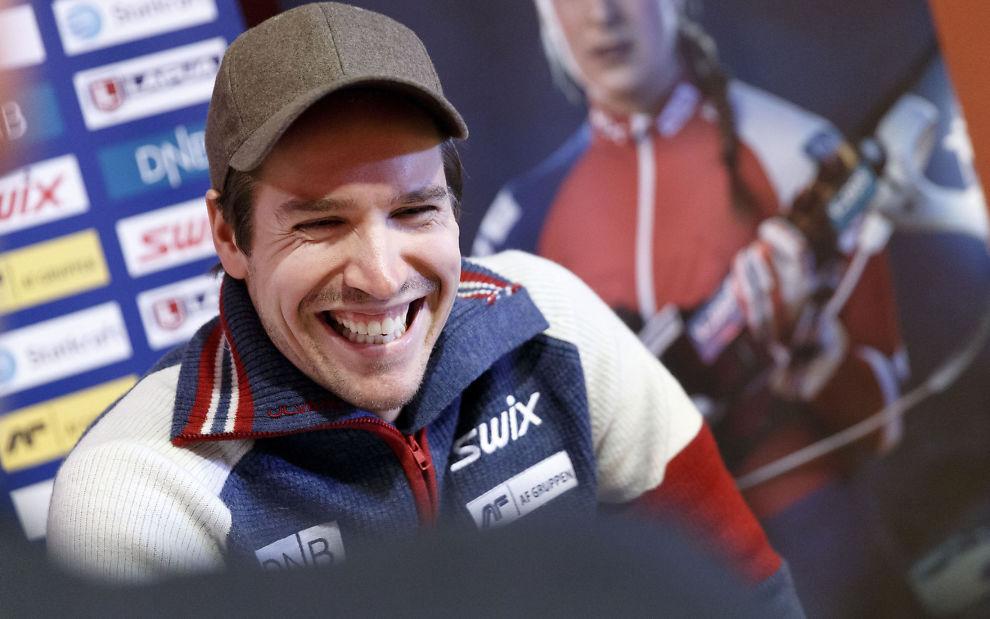 <p>HUMØRET ER TILBAKE: Emil Hegle Svendsen gleder seg til å komme i gang på hjemmebane i Holmenkollen.</p>