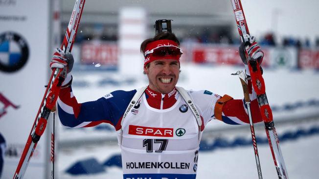 <p>REVANSJE: Emil Hegle Svendsen (30) viste at han fortsatt kan, da han gikk inn til bronsemedalje på dagens jaktstart. Da hadde trønderen avansert 14 plasser etter å ha startet ett minutt og 16 sekunder bak.</p>