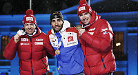 Bjørndalen hyllet for sin 42. VM-medalje
