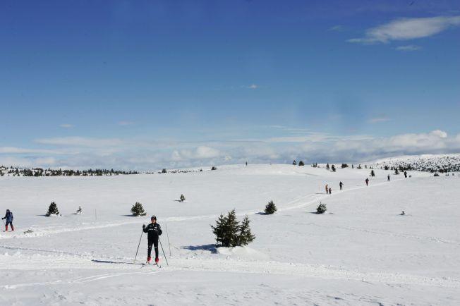 <p>FINT I FJELLET: Trysil, Kvitfjell, Norefjell og Hafjell er fjellområder som vil få finvær fredag og lørdag. Her fra Pellestova, som også vil ligge innenfor godværsbeltet.<br/></p>