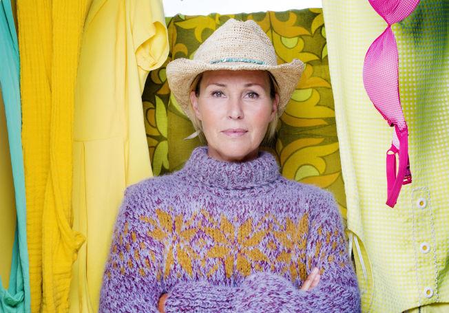 <p>ÅPNEHJERTIG: Dorthe Skappel sparer ikke på kruttet når hun snakker om de vonde følelsene på TV.</p>