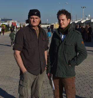 <p>Harald Henden og Nilas Johnsen i Tyrkia. Foto: HARALD HENDEN, VG</p>