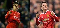 Sjekk styrkeforholdet mellom Liverpool og United i Europa