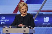 Clinton gjorde narr av Trumps planer:– Bare fantasi