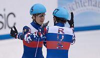 Dopingtatt russisk OL-mester: Skylder på lagkameratene