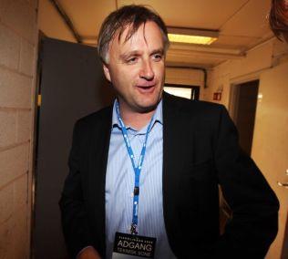 AAFK-DIREKTØR: Henrik Hoff, her fra en kamp for seks år siden.