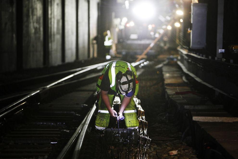 <p>OPPGRADERING: Her blir jernbanen i Oslo-området oppgradert noen år tilbake.</p>