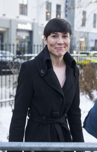 <p>SLIPPER KRITIKK: Forsvarsminister Ine Marie Eriksen Søreide (H).<br/></p>