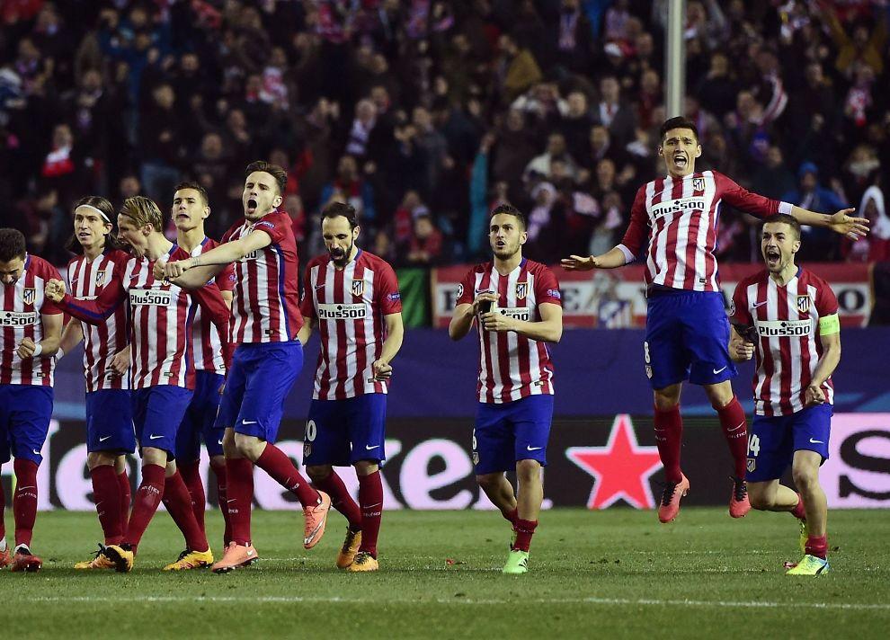 <p>ELLEVILL FEIRING: Akkurat som mot Bayer Leverkusen i fjor gikk Atlético Madrid videre fra 8-delsfinalen etter straffespark-konkurranse.</p>