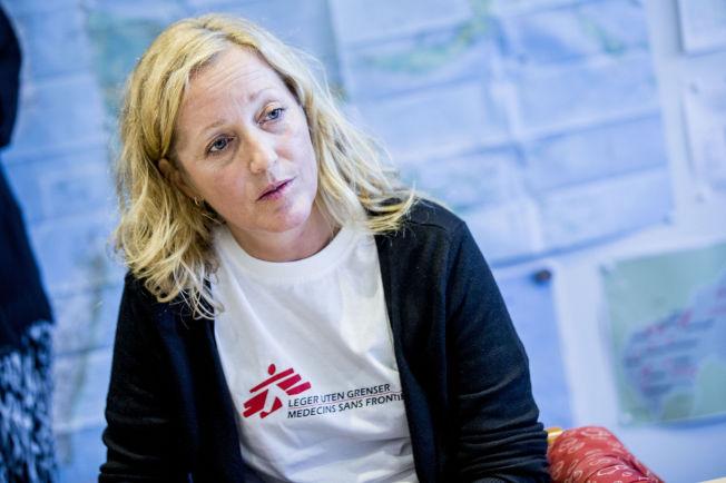 <p>ONDSKAPSFULLT:: Leger Uten Grensers nødhjelpskoordinator Lindis Hurum mener avtalen vil skape mer lidelse.</p>