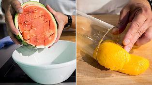 Smarte triks for å skrelle og rense sommerens frukter