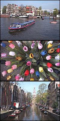 Kanaler til Amsterdam