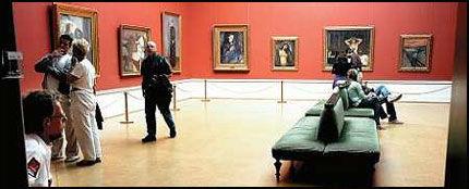 MUNCH-ROMMET BLIR BORTE: Når nye Nasjonalgalleriet åpner for publikum neste helg, er det berømte Munch-rommet fjernet. Foto: Scanpix
