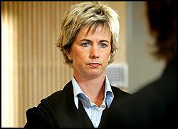 AKTOR: - Mannen skal ha vært svært intens i sin aktivitet overfor ungjentene, sa aktor Ingrid Thorsen. Foto: NICOLAI PREBENSEN