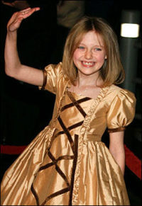 Dakota (11) er Hollywoods nye stjerne