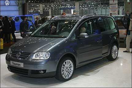 POPULÆR: VW Touran ble i juni tilbakekalt fra norske butikker av importøren Harald A. Møller. Foto: LARS H. JACOBSEN