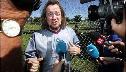 TAPTE: Iron Maiden og Adrian Smith. Foto: Scanpix