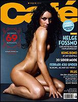 FAKSIMILE: Det svenske bladet Cafe.