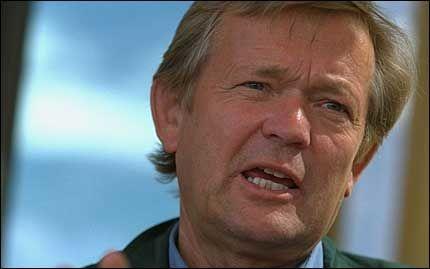 KREVER KANONER: Johan J. Jakobsen krever bedre håndheving av norsk suverenitet i nordhavet. Foto: Trond Solberg