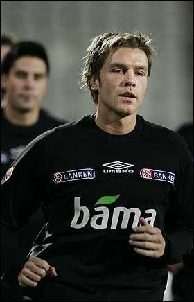 IKKE SIGNERT: Jarl Andre Storbæk blir trolig Vålerenga-spiller om ikke lenge. Foto: Scanpix