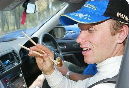 SKUFFET: Petter Solberg var skuffet etter at han måtte bryte Rally Australia. Foto: AP