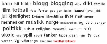 BLOGG DU OGSÅ! Over 3000 bloggere skriver på VG Nett. Foto: VG Nett.