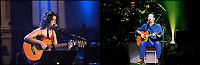 Konsert med Melua og Clapton