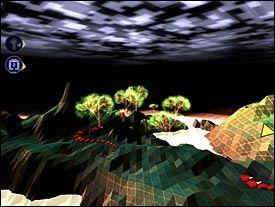 EVOLUSJON: Virusene har utviklet seg til beintøffe slanger som snor seg i det darwinianske landskapet. Foto: Introversion/VG Nett