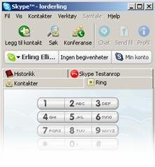 ENDELIG: Skype er et ganske enkelt program, men les deg til alt! Foto: VG Nett