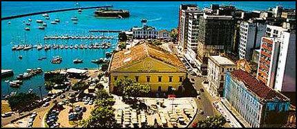 GAMMEL STORHET: Salvador var Brasils hovedstad i ca. 250 år, inntil Rio overtok i 1763. Foto: Dag Fonbæk.