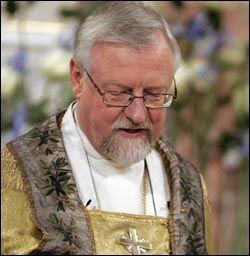 SKAPER REAKSJONER: Oslos biskop Ole Christian Kvarme nektet en prest jobb fordi han lever i et homofilt partnerskap. Foto: SCANPIX Foto: