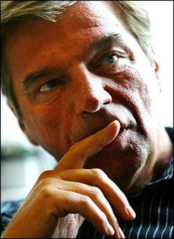 OPPVASK: Svein Erik Bakke tror Høyre vil få ny giv med ny leder. Foto: Terje Bringedal