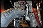 MÅ BYTTES: Bruker du sykkelen mye, må bremseklossene byttes hvert år. Foto: Frode Hansen