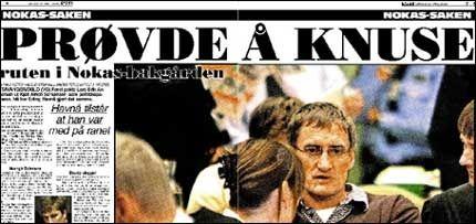 Les alt om tilståelsen i dagens VG. Foto: Faksimile