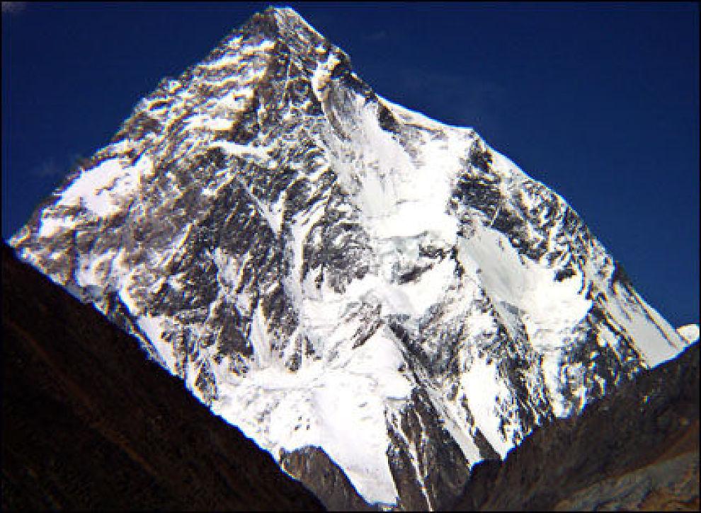høyeste fjell i verden