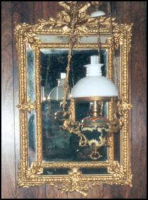 STJÅLET: Et antikk speil er meldt stjålet. Foto: Ettersokt.no