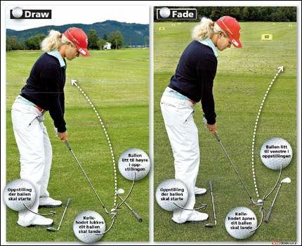 SKRU: Det kan være lønnsomt å kunne skru ballen. Tutta viser deg hvordan! Foto: Helge Mikalsen, VG.
