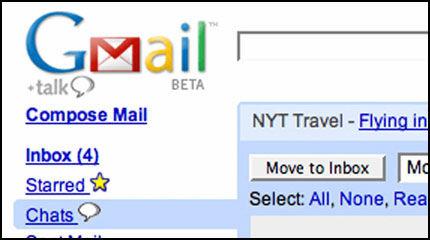 ENDELIG PÅ NORSK: Slik så Gmail ut før. Fra nå av kan du velge norsk språk i epostprogrammet. Foto: Reuters