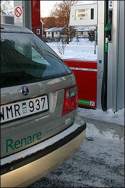 PRIS TIL VÆRS: Saab 9-5 BioPower vil øke kraftig i pris. Foto: Hanne Hattrem