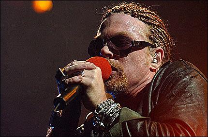 ENDELIG ALBUM: Nå skal det nye Guns n' Roses albumet endelig være klart. Foto: EPA
