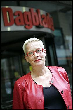 - FEIL: Dagbladets sjefredaktør Anne Aasheim mener de dårlige opplagstallene for Dagbladet som Klassekampen presenterte er feil. Foto: SCANPIX