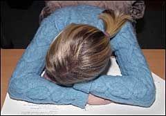 SLITEN: Har du vært mye stresset tidligere i livet har du større risiko for å bli rammet av kronisk utmattelsessyndrom. Foto: VG