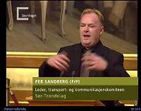 Drakk sprit før han talte i Stortinget