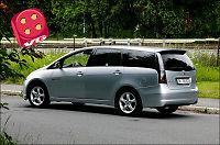 Test av Mitsubishi Grandis: Solid, men støyer