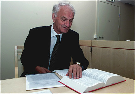REAGERER: Fritjof Frank Gundersen var i Frankrike da boken til Eli Hagen ble lansert før jul. Nå slår han tilbake. Foto: SCANPIX
